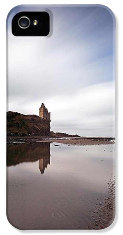 Greenan Castle IPhone 5 Case featuring the photograph Greenan Castle by Grant Glendinning