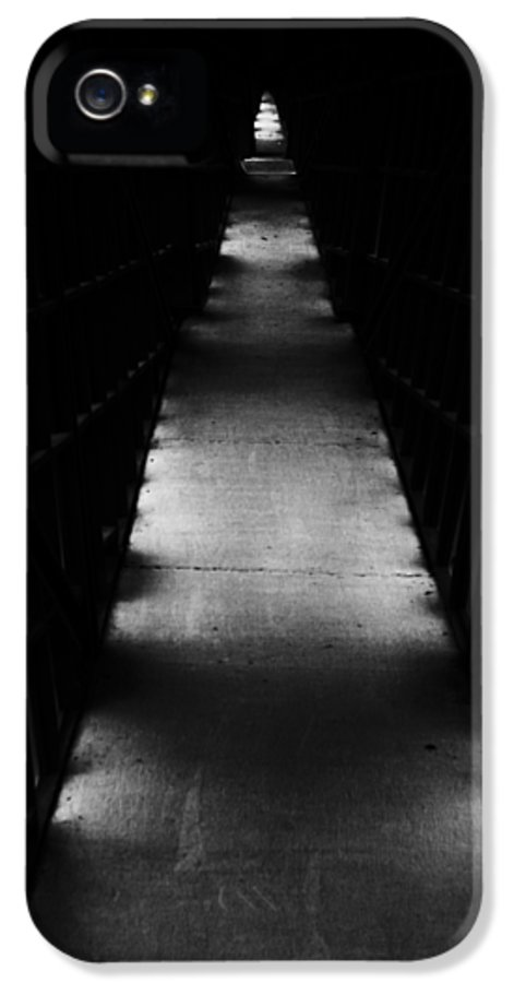 Abstract IPhone 5 Case featuring the photograph Hallway To Nowhere by Christi Kraft
