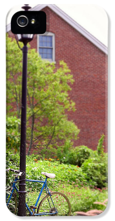 Bicycle IPhone 5 Case featuring the photograph Hanging Around by K Hines