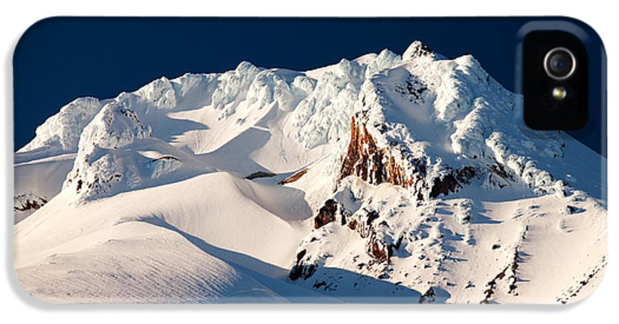 Mount Hood IPhone 5 / 5s Case featuring the photograph Hanging On Hood by Darren White