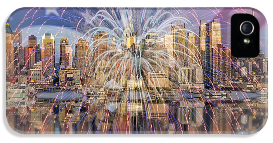 America IPhone 5 Case featuring the photograph Happy Birthday America by Susan Candelario