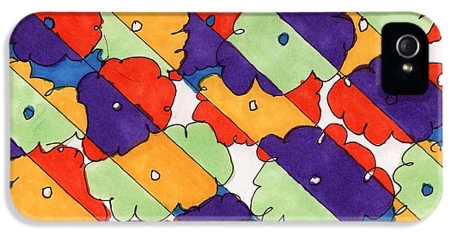 Happy Birthday IPhone 5 Case featuring the drawing Happy Birthday by Lesa Weller
