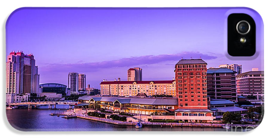 Architecture IPhone 5 Case featuring the photograph Harbor Island by Marvin Spates