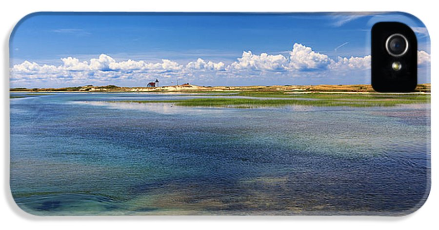 Hatches Harbor IPhone 5 Case featuring the photograph Hatches Harbor by Bill Wakeley