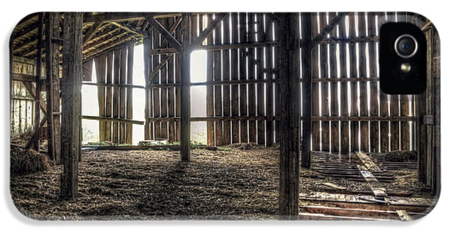 Barn IPhone 5 Case featuring the photograph Hay Loft 2 by Scott Norris