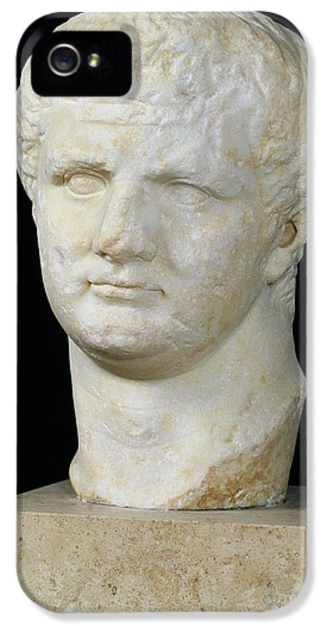 Tete De IPhone 5 Case featuring the sculpture Head Of Titus by Anonymous