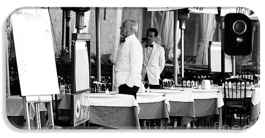 Pictures IPhone 5 Case featuring the photograph Head Waiter by John Rizzuto