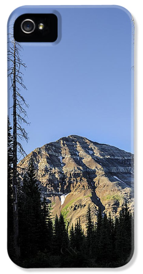 Hesperus IPhone 5 Case featuring the photograph Hesperus Mountain by Aaron Spong