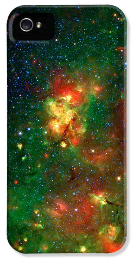 Universe IPhone 5 Case featuring the photograph Hidden Nebula 2 by Jennifer Rondinelli Reilly - Fine Art Photography