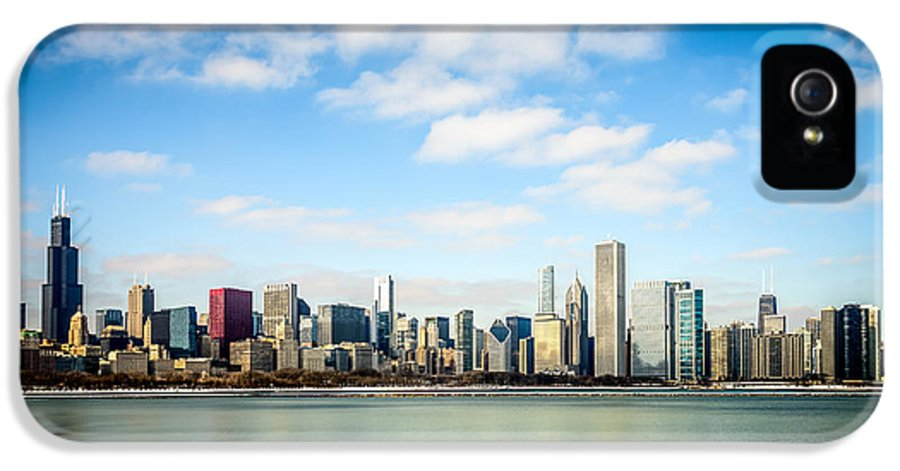 America IPhone 5 Case featuring the photograph High Resolution Large Photo Of Chicago Skyline by Paul Velgos