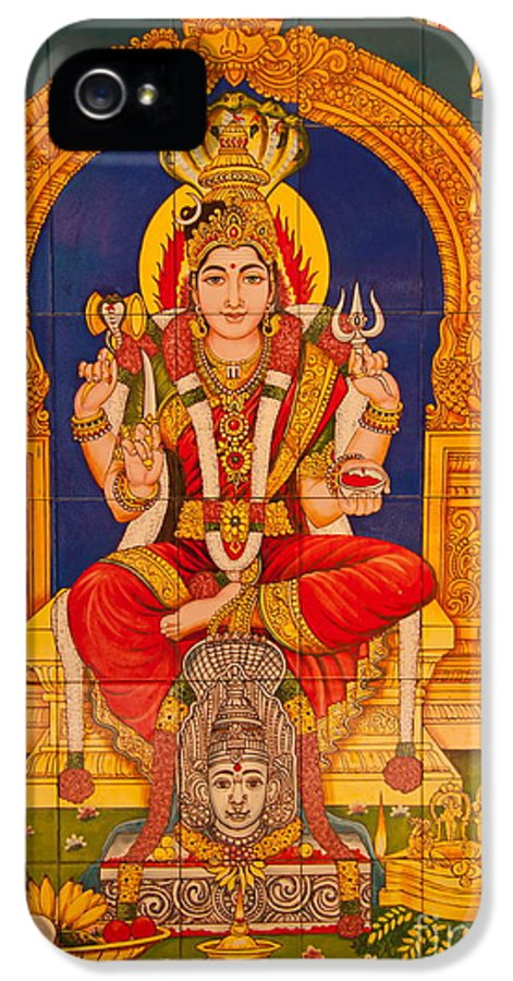Hinduism IPhone 5 Case featuring the photograph Hindu God by Niphon Chanthana