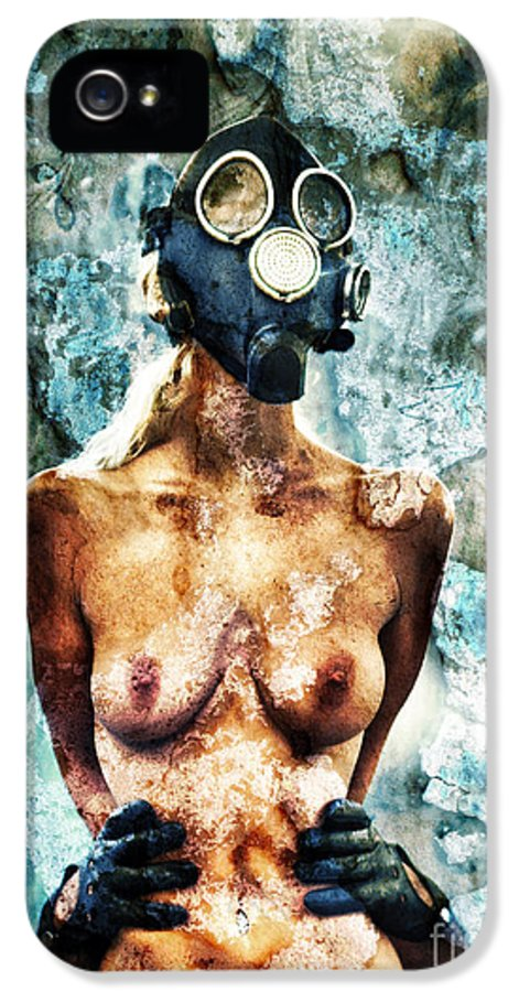 Art IPhone 5 Case featuring the photograph Hold Me If I M Dying 1 by Stelios Kleanthous
