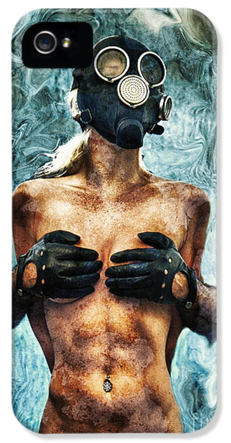 Art IPhone 5 Case featuring the photograph Hold Me If I M Dying 2 by Stelios Kleanthous