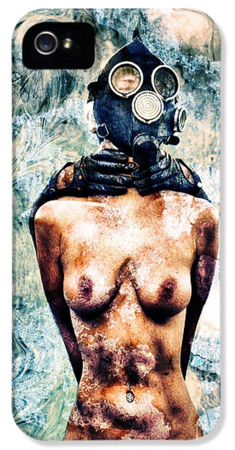 Art IPhone 5 Case featuring the photograph Hold Me If I M Dying 4 by Stelios Kleanthous