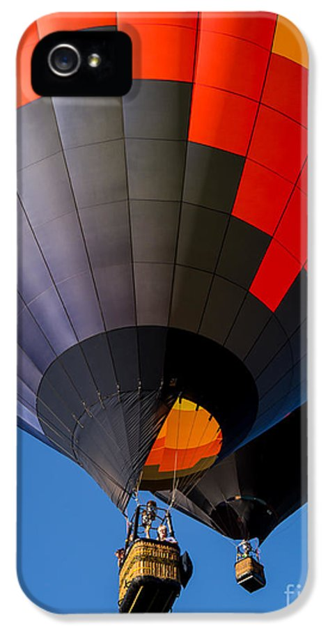 Hot IPhone 5 Case featuring the photograph Hot Air Ballooning by Edward Fielding