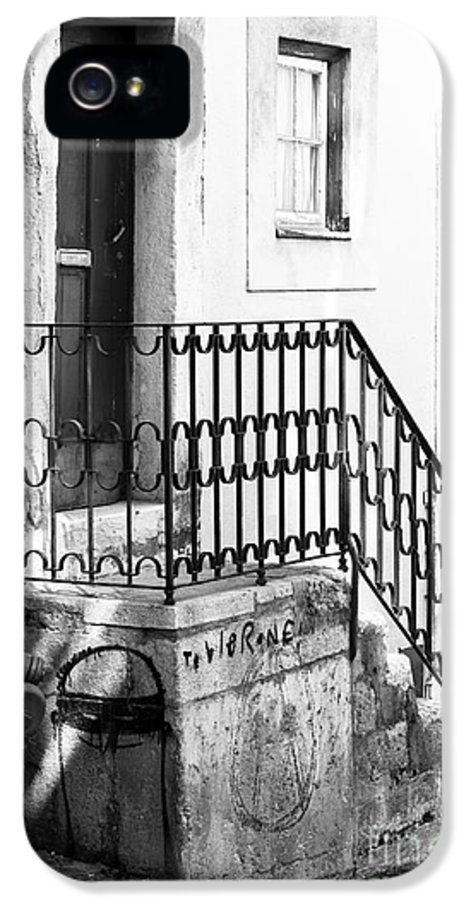 House In The Corner IPhone 5 Case featuring the photograph House In The Corner by John Rizzuto