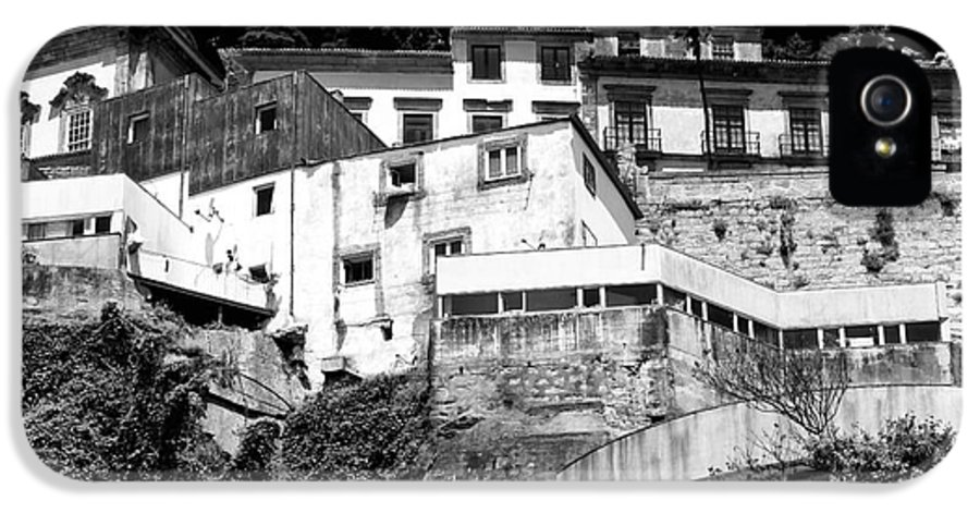 Houses On The Hill IPhone 5 Case featuring the photograph Houses On The Hill by John Rizzuto