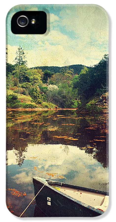Quarryhill Botanical Garden IPhone 5 Case featuring the photograph I Tried To Get To You by Laurie Search