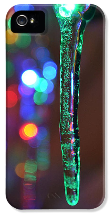 Maine Ice Storm IPhone 5 Case featuring the photograph Ice Storm Christmas 2 by Ken DErrico