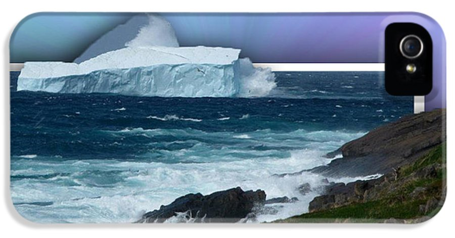 Oob Iceberg IPhone 5 Case featuring the photograph Iceberg Escape by Barbara Griffin