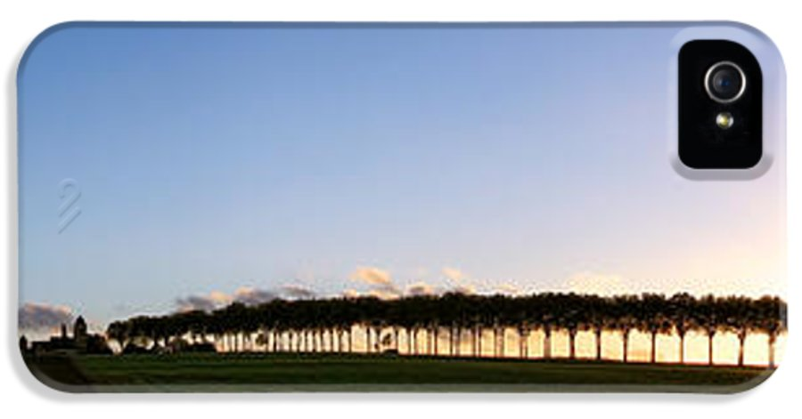 France IPhone 5 Case featuring the photograph Ile De France Sunset by Olivier Le Queinec