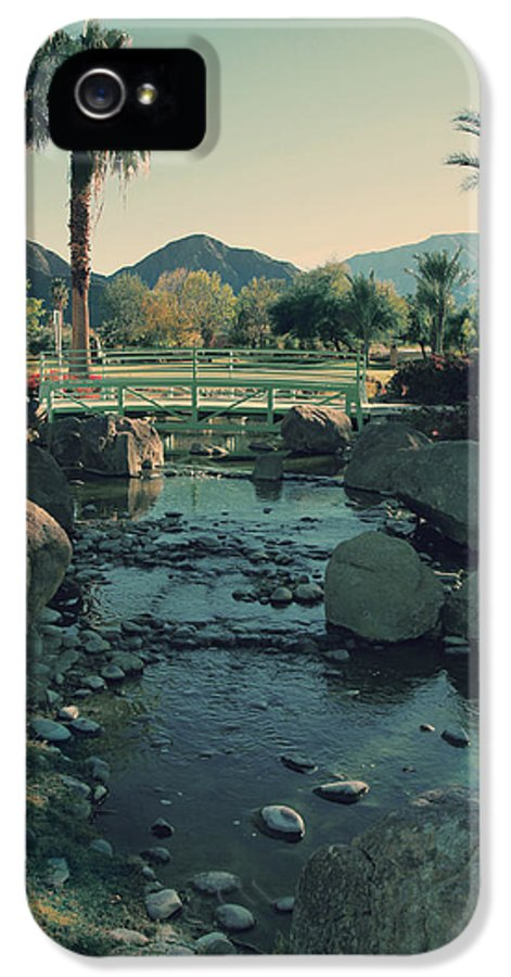 La Quinta Civic Center IPhone 5 / 5s Case featuring the photograph I'll Never Say Goodbye by Laurie Search