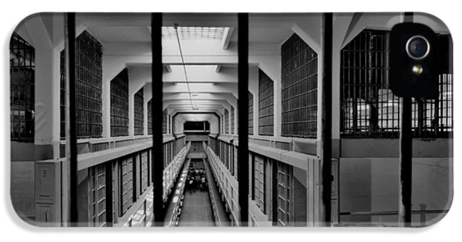 Alcatraz IPhone 5 Case featuring the photograph In The Clink by Benjamin Yeager