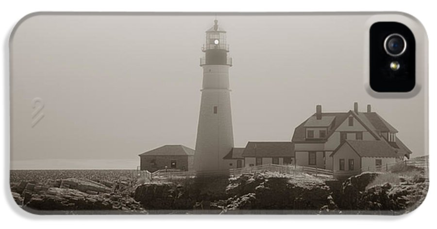 Atlantic Ocean IPhone 5 Case featuring the photograph In The Mist by Joann Vitali