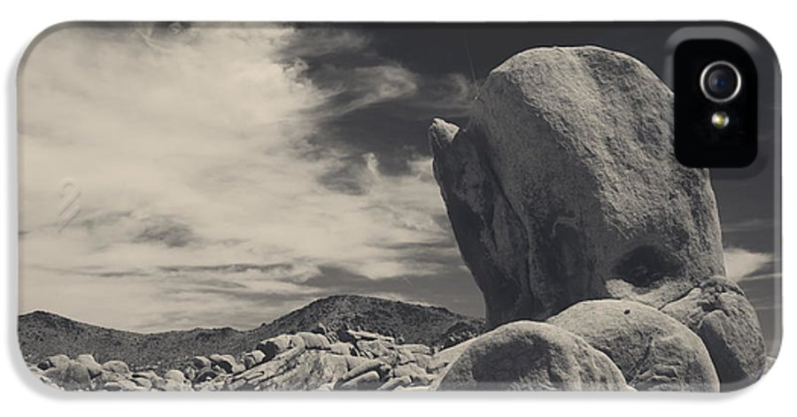 Joshua Tree National Park IPhone 5 Case featuring the photograph In This Strange Land by Laurie Search