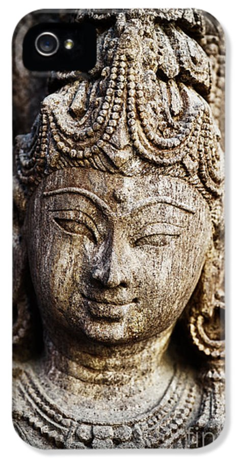 Granite IPhone 5 Case featuring the photograph Indian Goddess by Tim Gainey