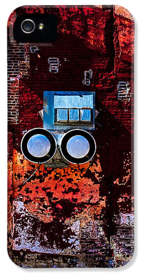 Architecture IPhone 5 Case featuring the photograph Inside Out by Bob Orsillo