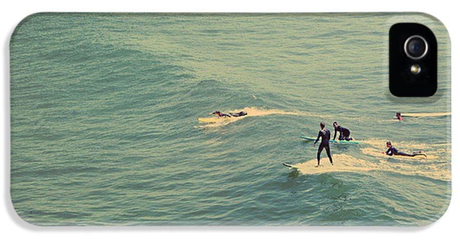 Santa Cruz IPhone 5 Case featuring the photograph It's The Ride by Laurie Search