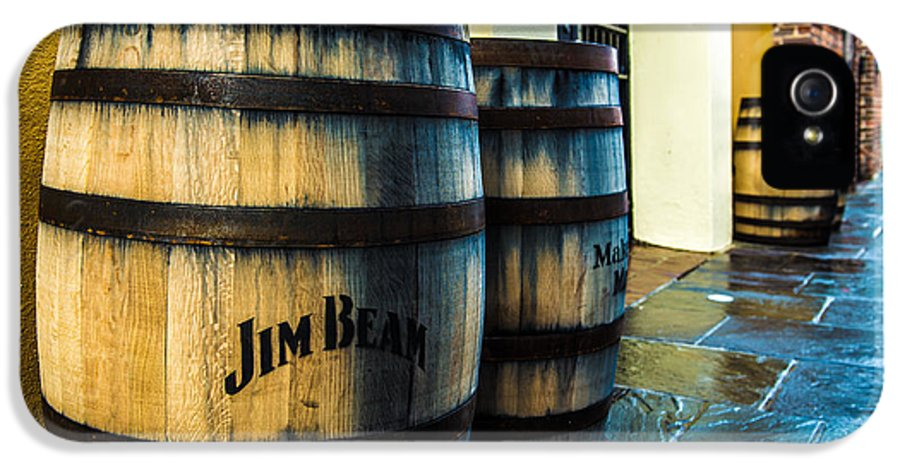 Jeff Tureaud IPhone 5 Case featuring the photograph Jim Beam by Jeff Tureaud