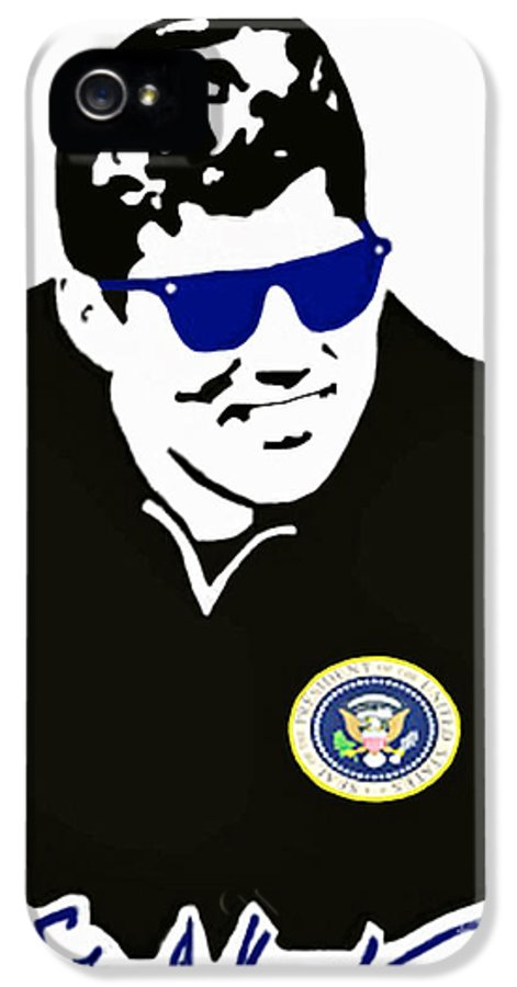 Jackie IPhone 5 Case featuring the photograph John F Kennedy Signature Wayfarer by Jost Houk