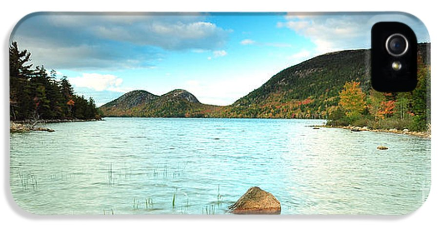 Jordan Pond IPhone 5 Case featuring the photograph Jordan Pond I by Matthew Yeoman