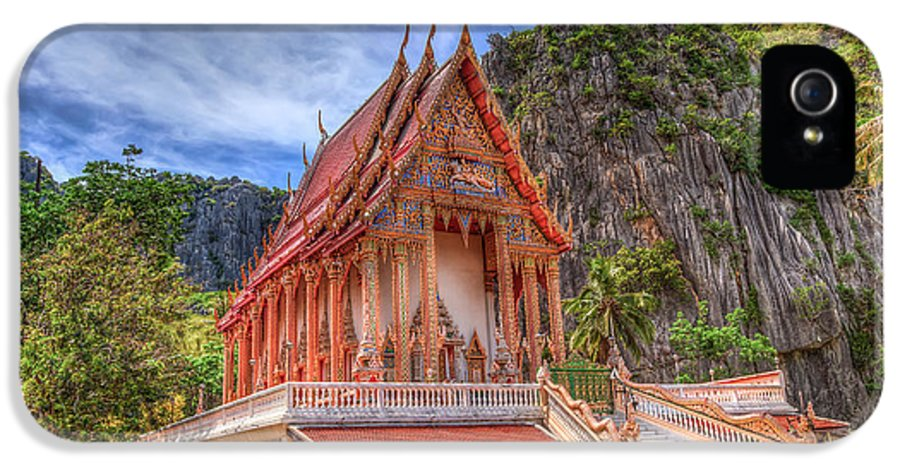 Architecture IPhone 5 Case featuring the photograph Jungle Temple V2 by Adrian Evans
