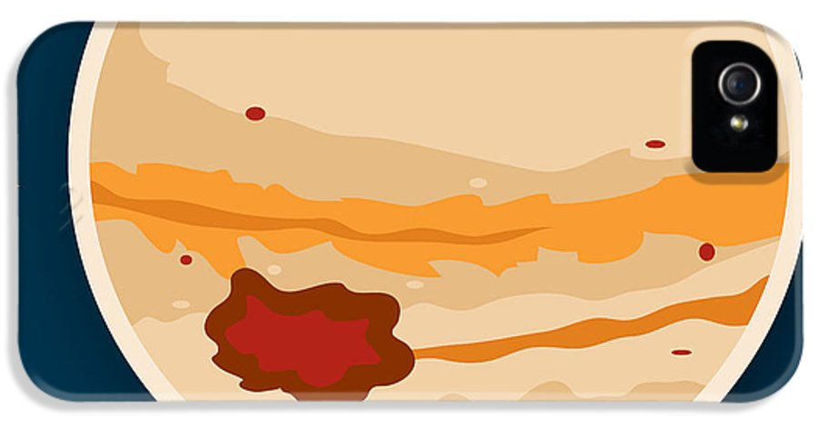 Jupiter IPhone 5 Case featuring the drawing Jupiter by Christy Beckwith