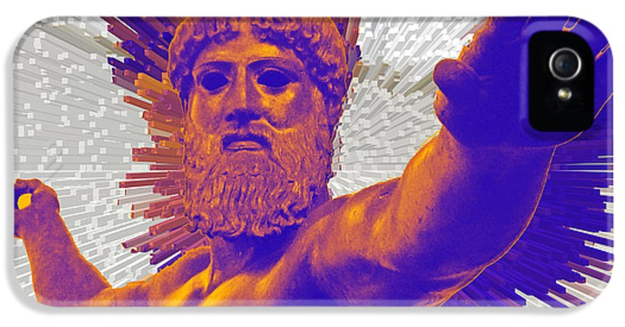 Jupiter IPhone 5 Case featuring the photograph Jupiter - Zeus by Augusta Stylianou