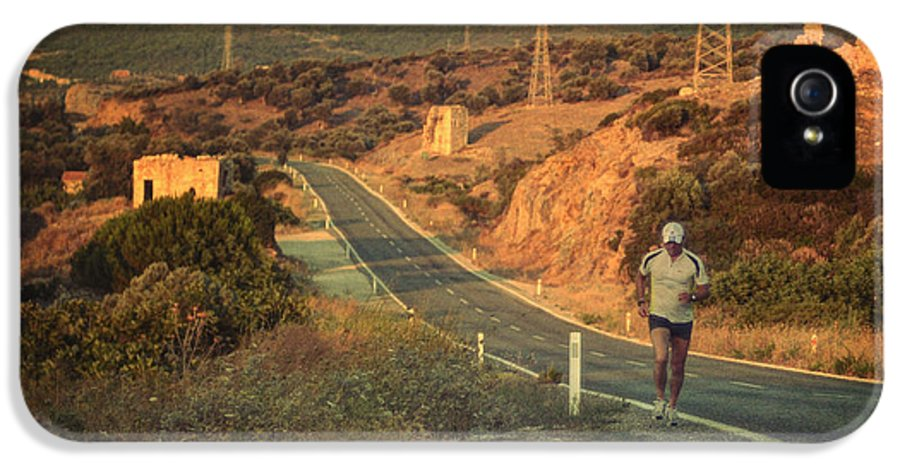 Road IPhone 5 Case featuring the photograph Just A Dream by Taylan Apukovska