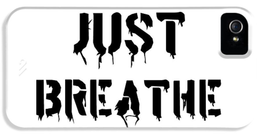 Just Breathe IPhone 5 Case featuring the painting Just Breathe by Florian Rodarte