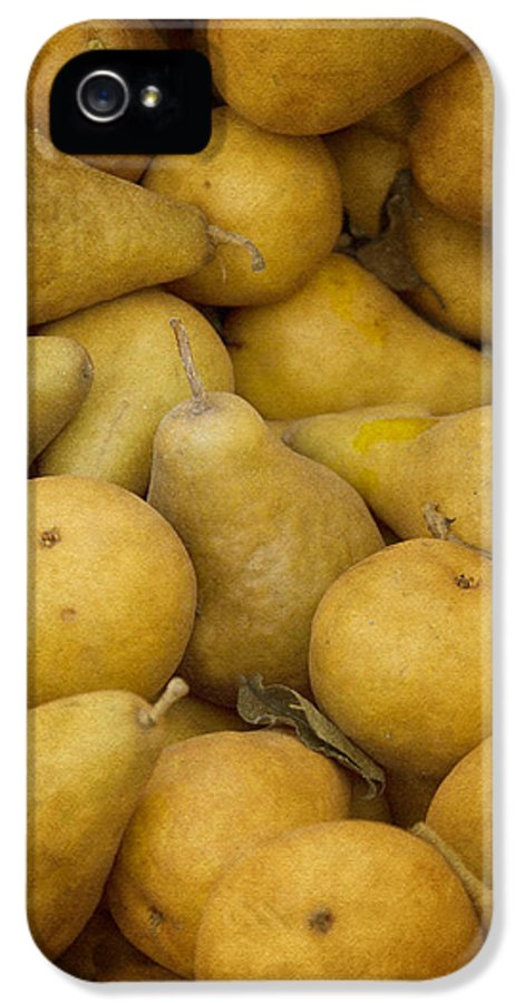 Pears IPhone 5 Case featuring the photograph Just Pears by Rebecca Cozart