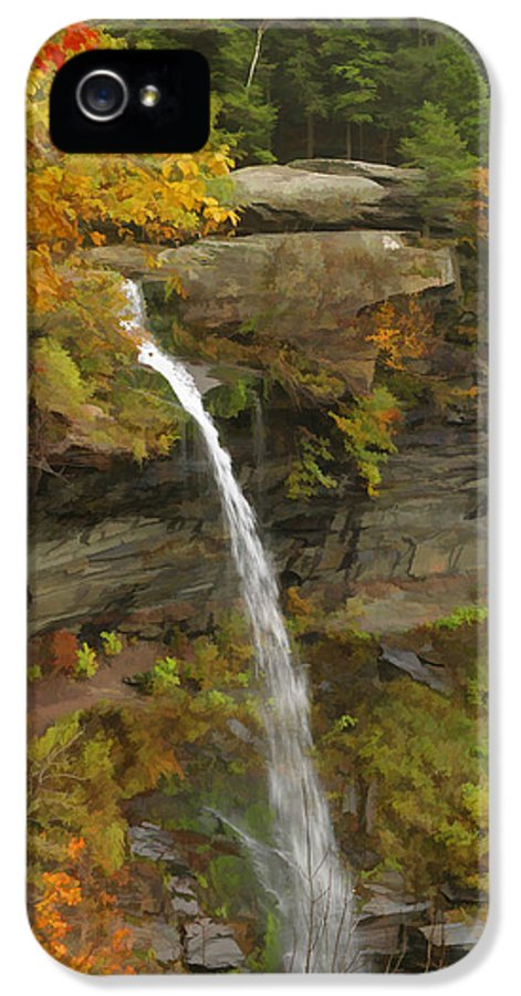 Catskill Mountains IPhone 5 Case featuring the photograph Kaaterskill Falls by Gregory Scott
