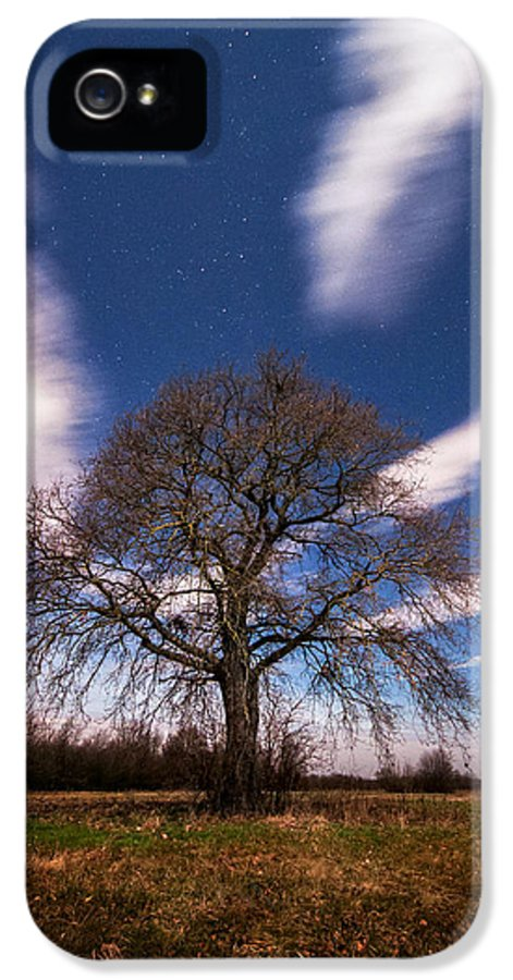 Landscape IPhone 5 Case featuring the photograph King Of The Night by Davorin Mance