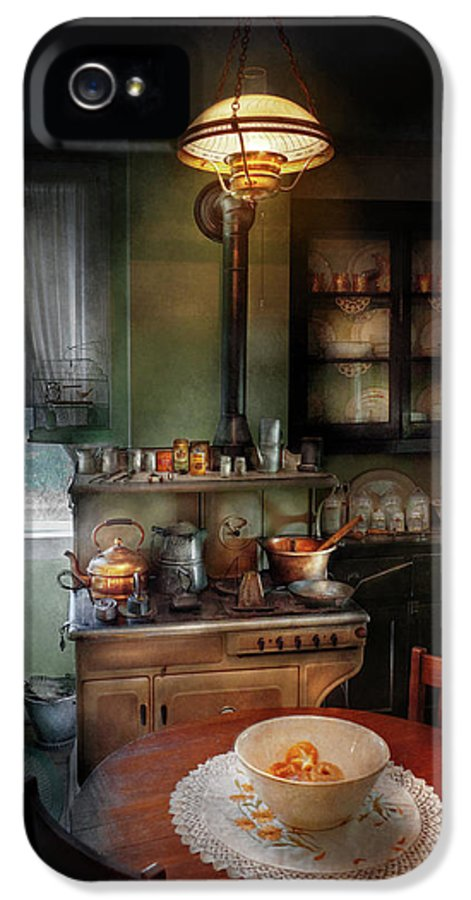 Kitchen IPhone 5 / 5s Case featuring the photograph Kitchen - 1908 Kitchen by Mike Savad