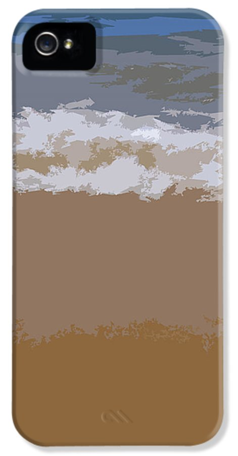 Beach IPhone 5 Case featuring the photograph Lake Michigan Shoreline by Michelle Calkins