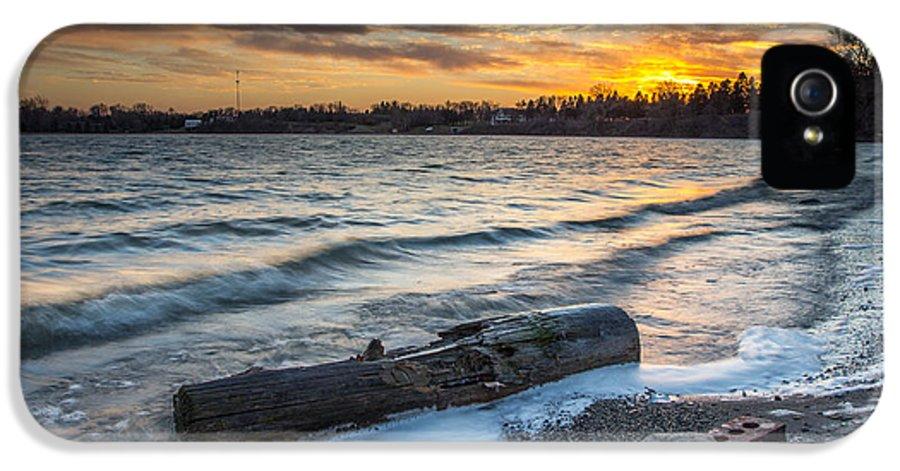 Lake IPhone 5 Case featuring the digital art Lake Yankton Minnesota by Aaron J Groen