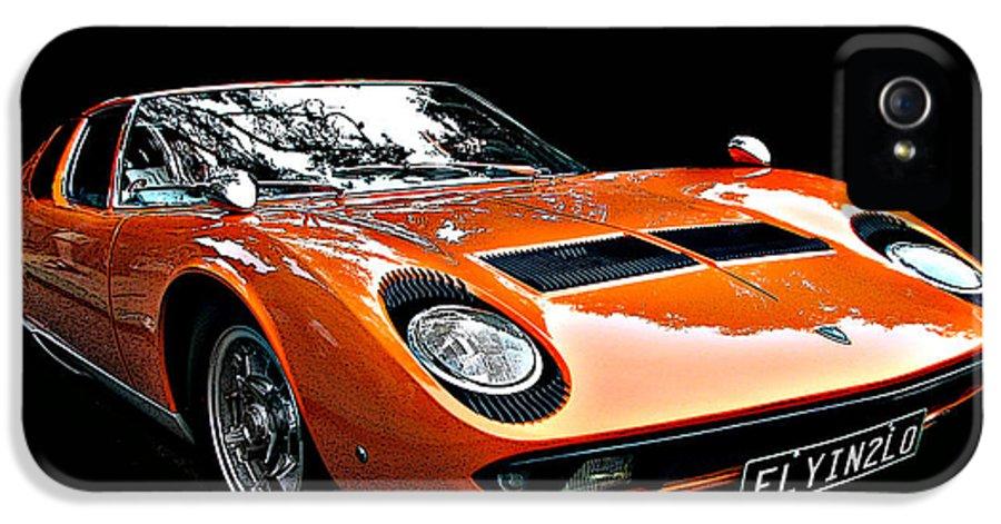 Lamborghini Miura S Iphone 5 Case For Sale By Samuel Sheats