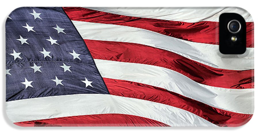 Land Of The Free And Home Of The Brave IPhone 5 Case featuring the photograph Land Of The Free by JC Findley