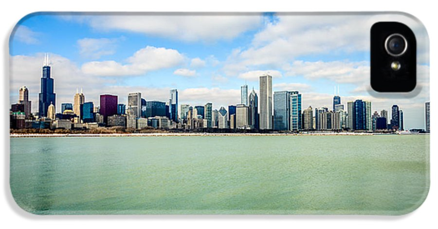 America IPhone 5 Case featuring the photograph Large Picture Of Downtown Chicago Skyline by Paul Velgos