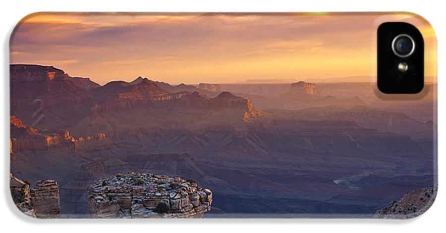 Sunrise IPhone 5 Case featuring the photograph Le Grand Sunrise by Darren White